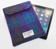 Ipad Air Sleeve HARRIS TWEED Purple Heather £29.00