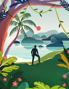 Beautifully Bright Illustrations by Geraldine Sy