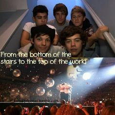 From the bottom of the stairs to the top of the world