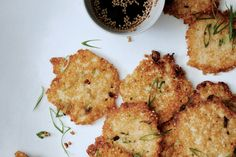 Millet-Scallion Pancakes