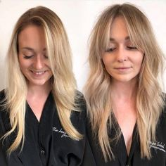 23 Chic Choppy Bangs for Women That Are Popular for 2019 - Style My Hairs * Transformation Thursday! Curtain Bangs + Shag by . Hairstyles With Bangs, Pretty Hairstyles, Bangs Updo, Long Fringe Hairstyles, Middle Part Hairstyles, Haircut Bangs, Curled Bangs, Wedding Hairstyles, Asymmetrical Hairstyles