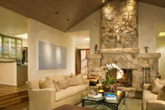 A beautiful living room. Aspen, CO Coldwell Banker Mason Morse Real Estate