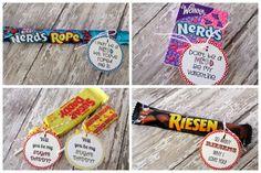 DIY Valentine Candy Labels