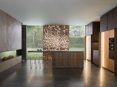 Download the catalogue and request prices of Saffron By gamadecor, fitted kitchen with island design Ramon Esteve Estudio