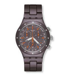 BROWN COAT (YCC4000AG) - Swatch International