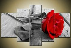 """""""RED ROSE ON PIER"""""""