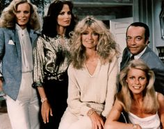 Drôles de dames - Jaclyn Smith - Shelley Hack - Cheryl Ladd - Farrah Fawcett - David Doyle