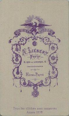 Liébert A. 2 - Paris (ebay)