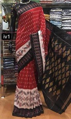 At Dailybuyys , we are offering new range of Ikkat Handloom Sarees on best prices in India. Vibrant colors, different designs, easy shopping and fastest shipping services. Ikkat Saree, Handloom Saree, Indian Designer Sarees, Sarees Online, Vibrant Colors, Stuff To Buy, Shopping, Collection, Vivid Colors