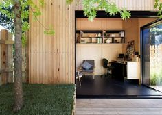 Tapping into the growing trend of working from home combined with the rise of home-based businesses, Bill McCorkell and David Martin from Archiblox  have created a series of pre fabricated, architecturally designed, and sustainable garden studios to met the need for more space.