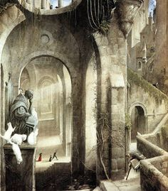 Gormenghast, castello - Lande Incantate