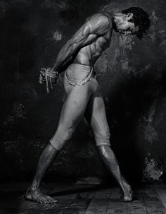 Famed ballet dancer Roberto Bolle / Photographer Giampaolo Sgura / Roberto Bolle (born March 26, 1975) is an Italian danseur. He is currently a principal dancer with American Ballet Theatre and also holds guest artist status with The Royal Ballet and La Scala Theatre Ballet, making regular appearances with both companies.