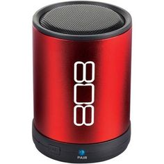 808 Bluetooth Portable Speaker (red)