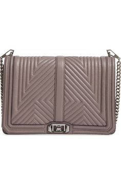 Rebecca Minkoff 'Geo Quilted Love Jumbo' Crossbody Bag available at #Nordstrom