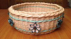 #941 Мастер-класс с Ниной Весенняя корзинка с цветами канзаши