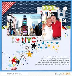 I+Love+NYC - Scrapbook.com