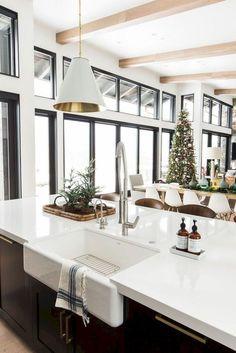 39 Best Farmhouse Kitchen Sink Decor Ideas #kitchendecorideas