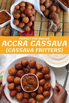 Vegan Recipes Videos, Cooking Recipes, Koeksisters Recipe, Cassava Recipe, Yummy Snacks, Yummy Food, Cheesy Recipes, Caribbean Recipes, Soul Food