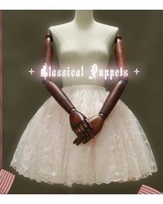 Classical Puppets 3 Layer Embroidery Lolita Petticoat  #lolita  #petticoat  #embroidery  #classical