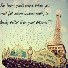 A quote by Dr. Seuss. Not to mention being in love AND being Paris? What more could you ask for?