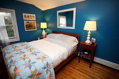 Brooke's 'Tulum Blue' Bedroom    Room for Color - East #21