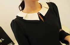Cute collar blouse