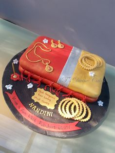 Gorgeous Saree Cake