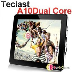 """9.7"""" Teclast A10 Android 4.0 Dual Core A9 1.6GHz Tablet PC 16GB 1G RAM DDR3 IPS"""