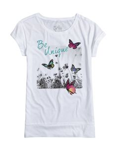 size: 16? Long Graphic Tee
