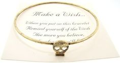 Amazon.com: Make a Wish Gold Antiqued Bracelet - (Skull): Everything Else