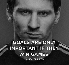 messi football quotes