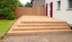 View wooden terrace after completion - Terreace