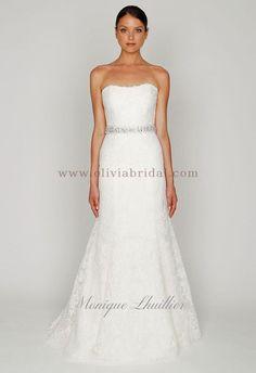 OliviaBridal Design Monique Lhuillier Bl1208 Price, Monique Lhuillier Wedding Dresses Cheap For Sale
