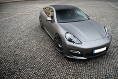 I realized that the Panamera is actually V2.0 of the 928. Still sort of ugly, but it grows on you!