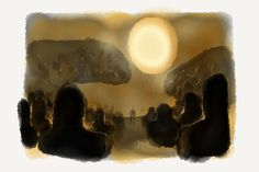 In the audience, soaking up the light at Marc Jacobs | Paper by FiftyThree