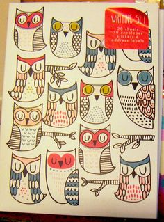 print & pattern: Search results for owls