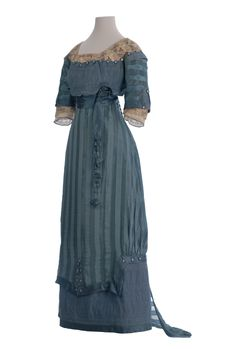 Crouset day dress, 1911-12 From the Museo de la Moda