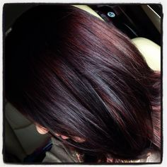 This dark shade with the reddish tint peek a boos! For Fall!