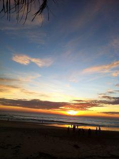 Beautiful evening at Karon Beach