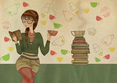 Tea and Books - perfect combination