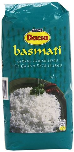 2,47€ - Arroz dacsa basmati 1k - arroz aromatico se presta para exquisitas preparaciones como ENSALADAS y GUARNICIONES en las q su perfume y sabor contribuyen p si mismo un placer para el paladar. Proteina 7,6