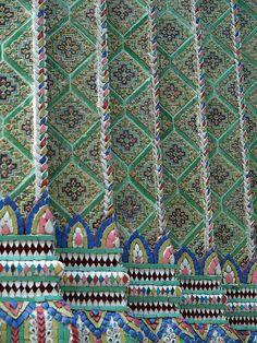 Tiles of Asia, Grand Palace, Bangkok, Thailand