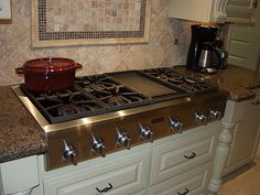 cooktop with griddle - Google Search