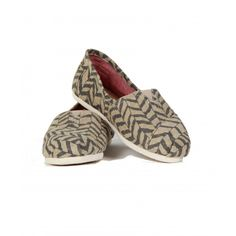 Womens Toms, Zig Zag, Slippers, Loafers, Flats, Classic, Shoes, Fashion, Travel Shoes