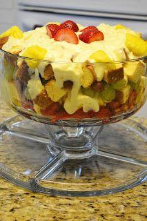 Delightful Deets: Fruit Trifle