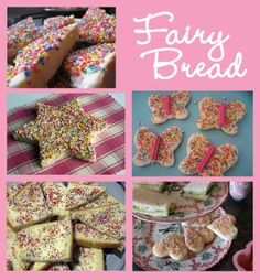 Australia for World Thinking Day (a GirlScout/GirlGuide thing) we served Fairy Bread. buttered bread, covered in hundreds and thousands (tiny round sprinkles) Aussie Food, Australian Food, Fairy Bread, Fairy Tea Parties, World Thinking Day, Daisy Scouts, Brownie Girl Scouts, Australia Day, Party Food And Drinks
