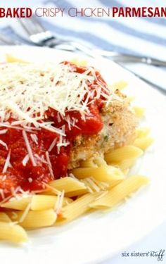Chicken Parmesan Meatballs Recipe | Six Sisters' Stuff