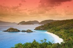 If you ever happen to find yourself on a cheap flight to the Caribbean, you can land in nearby St. Thomas and take a ferry to St. John Trunk Bay,  the crown jewel of Virgin Islands National Park