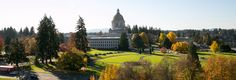 Panorama of the Capitol campus | Photo courtesy of the Washington State Legislature