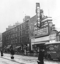 The Odeon, Main Street, Rutherglen. Gorbals Glasgow, The Second City, Cinema Theatre, Glasgow Scotland, Street View, Main Street, Black And White Photography, Old Photos, Places To Visit